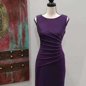 EUC Purple Ponte Dress